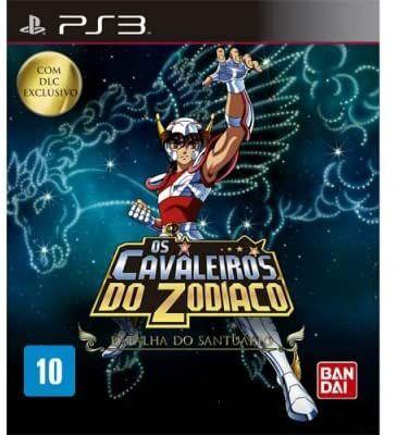 Jogo PS3 Usado Os Cavaleiros do Zodiaco Batalha do Santuário