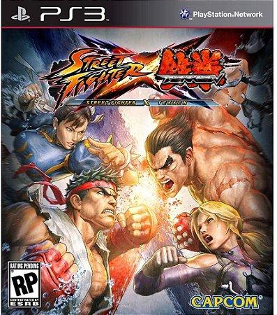 Jogo PS3 Usado Street Fighter X Tekken