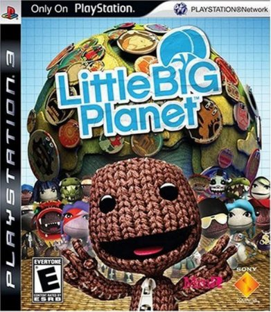 Jogo PS3 Usado Little Big Planet Game of the Year edition