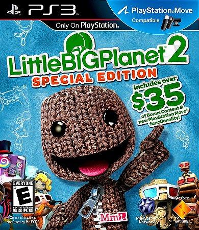 Jogo PS3 Usado Little Big Planet 2 Special Edition