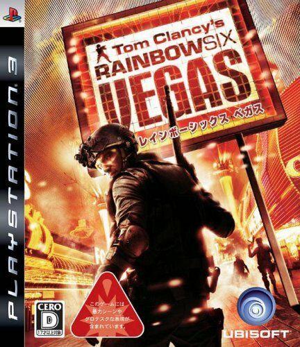 Jogo PS3 Usado Tom Clancy's Rainbow Six Vegas (JP)