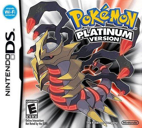 Jogo Nintendo DS Usado Pokémon Platinum Version