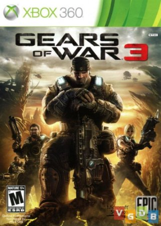 Jogo XBOX 360 Usado Gears of War 3