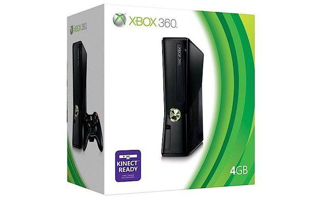 Console Usado XBOX 360 S 4GB Matte Black