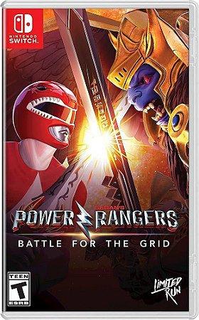 Jogo Nintendo Switch Usado Power Rangers: Battle for the grid