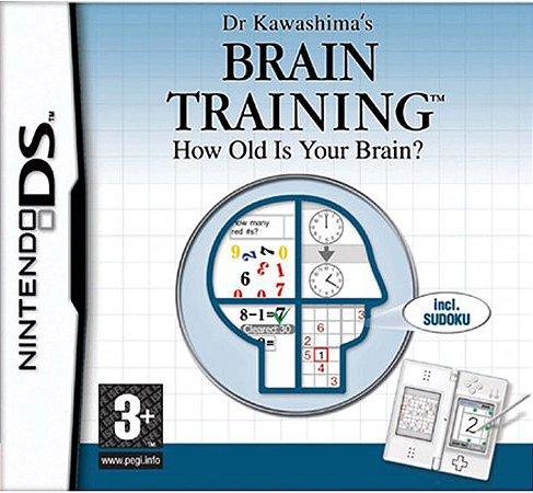 Jogo Nintendo DS Usado Brain Training