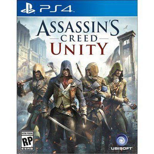Jogo PS4 Usado Assassin's Creed Unity