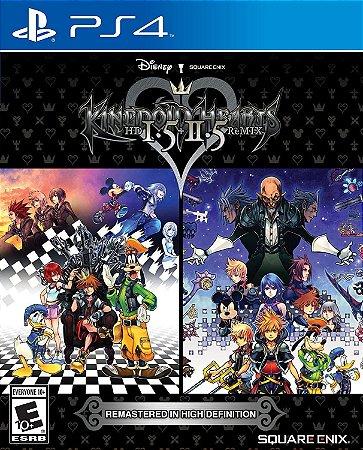Jogo PS4 Usado Kingdom Hearts HD 1.5 + 2.5 Remix