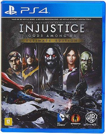 Jogo PS4 Usado Injustice Gods Among Us Ultimate Edition