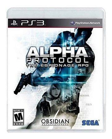Jogo PS3 Usado Alpha Protocol