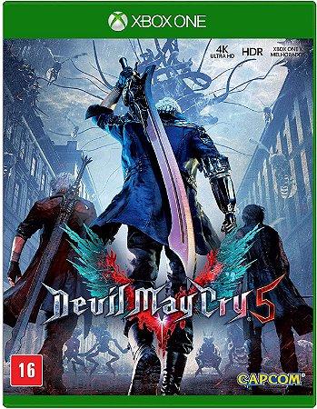 Jogo XBOX ONE Novo Devil May Cry 5