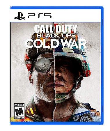 Jogo PS5 Novo Call of Duty Black Ops: Cold War