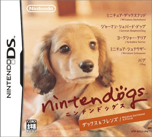 Jogo Nintendo DS Usado Nintendogs Dachshund & Friends (JP)