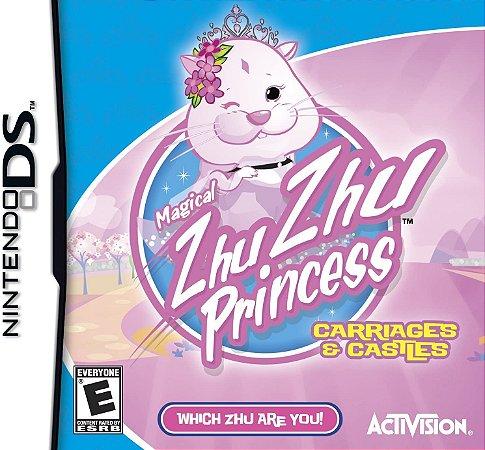 Jogo Nintendo DS Usado Magical Zhu Zhu Princess Carriages & Castles