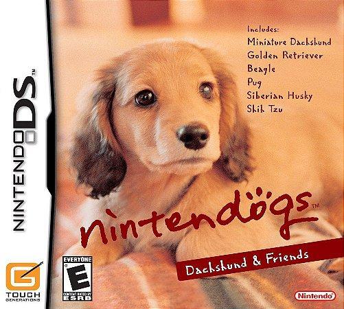 Jogo Nintendo DS Usado Nintendogs Dachshund & Friends