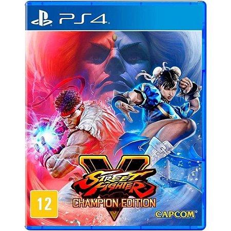 Jogo PS4 Novo Street Fighter V Champion Edition