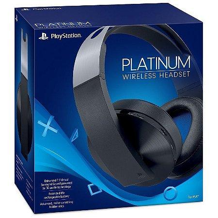 Periférico PS4 Novo Headset Sony Platinum