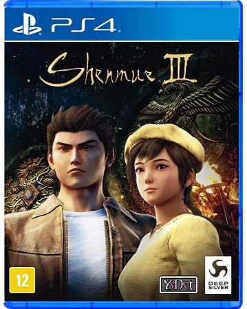 Jogo PS4 Novo Shenmue III