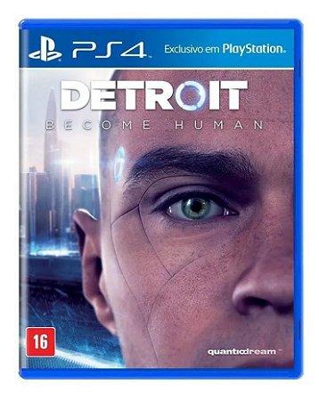 Jogo PS4 Novo Detroit Become Human