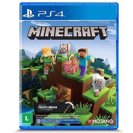 Jogo PS4 Novo Minecraft