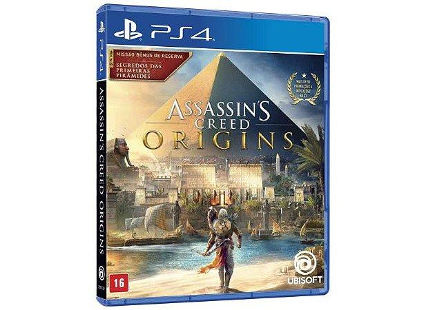 Jogo PS4 Novo Assassin's Creed Origins