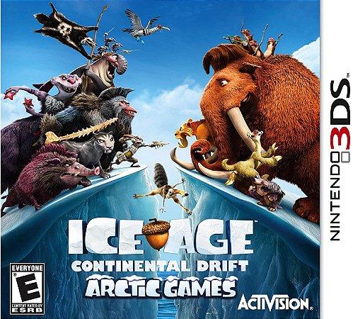 Jogo Nintendo 3DS Usado Ice Age: Continental Drift Arctic Games
