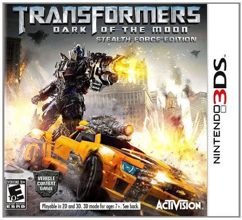 Jogo Nintendo 3DS Usado Transformers Dark of The Moon