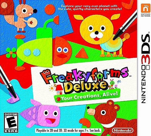 Jogo Nintendo 3DS Usado FreakyForms Deluxe