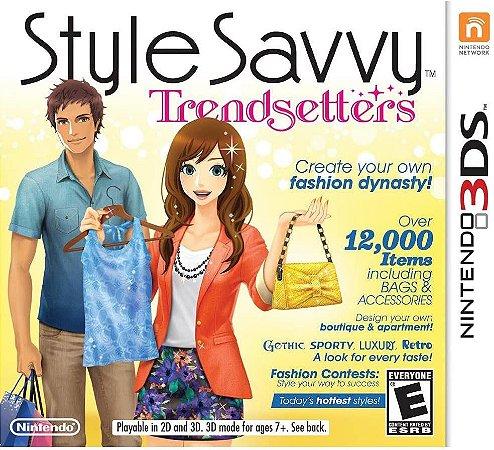 Jogo Nintendo 3DS Usado Style Savvy Trendsetters