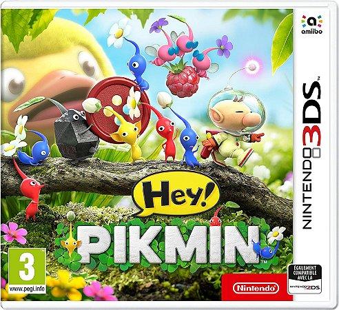 Jogo Nintendo 3DS usado Hey! Pikmin