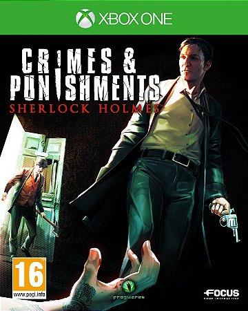 Jogo XBOX ONE Novo Crimes & Punishments Sherlock Holmes