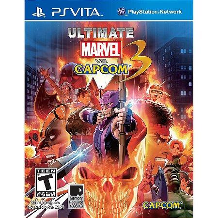 Jogo PSVITA Usado Ultimate Marvel vs. Capcom 3