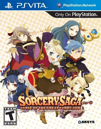 Jogo PSVITA Usado  Sorcery Saga: Curse of the Great Curry God