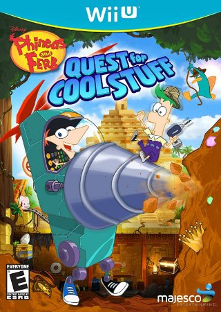 Jogo Nintendo WiiU Usado Phineas and Ferb Quest for Cool Stuff
