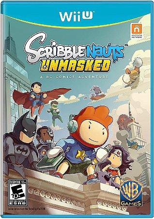 Jogo Nintendo WiiU Usado Scribblenauts Unsmaked: a DC Comics Adventure