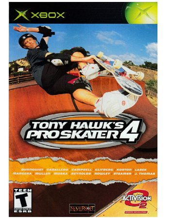 Jogo XBOX Usado Tony Hawk Pro Skater 4