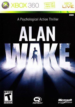 Jogo XBOX 360 Usado Alan Wake