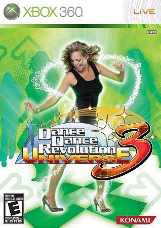 Jogo XBOX 360 Usado Dance Dance Revolution Universe 3