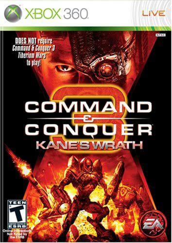 Jogo XBOX 360 Usado Command e Conquer 3 Kane's Wrath