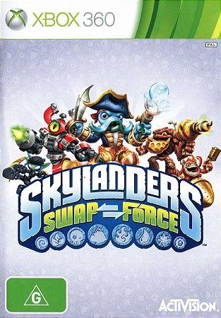 Jogo XBOX 360 Usado Skylanders Swap Force