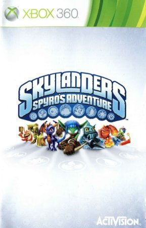 Jogo XBOX 360 Usado Skylanders Spyro's Adventure