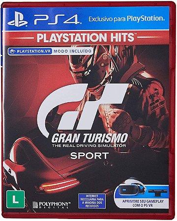 Jogo PS4 Usado Gran Turismo Sport