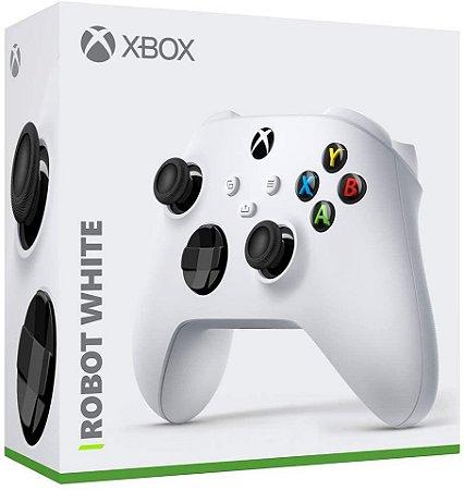 Periférico Controle Xbox Series Robot White