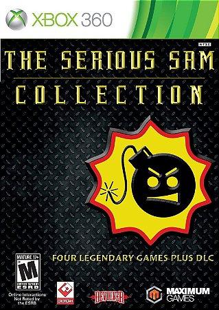 Jogo XBOX 360 Novo Serious Sam Collection