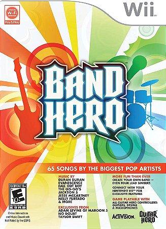 Jogo Nintendo Wii Usado Band Hero
