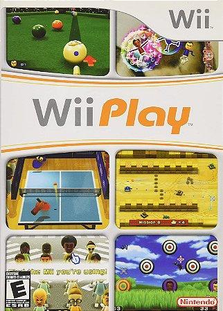 Jogo Nintendo Wii Usado Wii Play