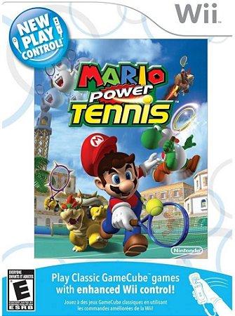 Jogo Nintendo Wii Usado Mario Power Tennis