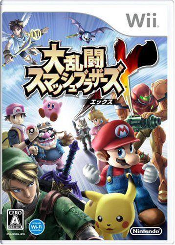 Jogo Nintendo Wii Usado Super Smash Bros. Brawl (JP)