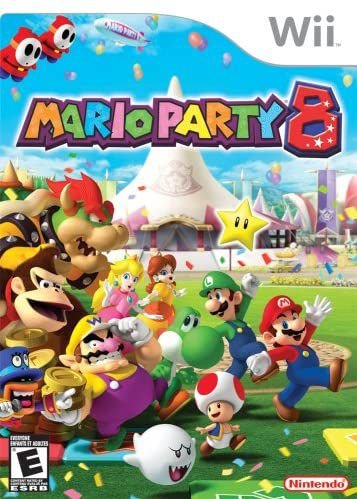 Jogo Nintendo Wii Usado Mario Party 8