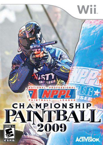 Jogo Nintendo Wii Usado NPPL Championship Paintball 2009